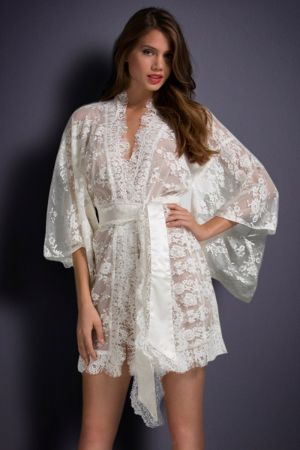 White Reverie Kimono