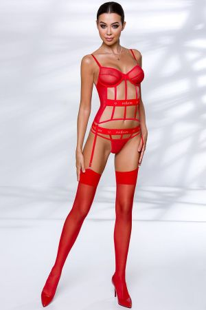 KYOUKA BUSTIER RED