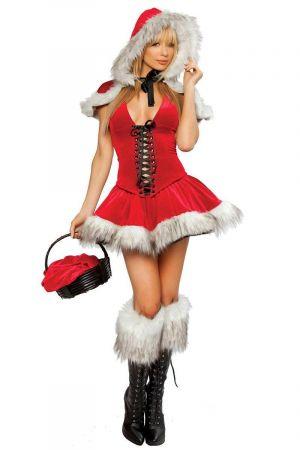 LITTLE MISS CHRISTMAS BUSTIER